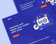 Landing page for QSO designed by Shahin Srowar🚀 for Respogrid. Connect with them on Dribbble; Landing, Seo, Web Design, Marketing, Design Web, Site Design, Website Designs