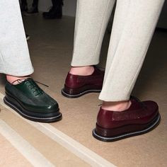 Jil Sander FW2014 Love them...I  have something similar in suede