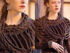 Stunning high fashion in Vogue #Knitting #Crochet 2014