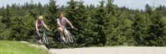 Aktivurlaub auf 1025 Meter Höhe - Radfahren