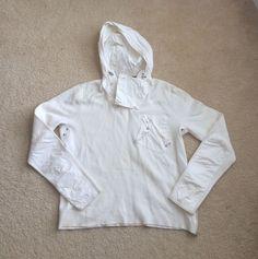 Men's Ralph Lauren Black Label Sweater Nylon Hood Sz M | eBay