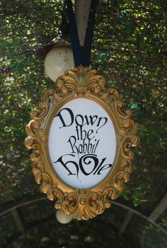 Alice in Wonderland decor