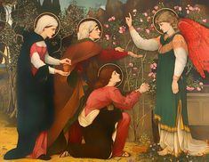 Why Seek Ye The Living Among The Dead John Roddam Spencer Stanhope