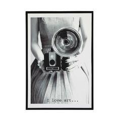 Holzbild im Vintage-Stil 76 x 110 cm