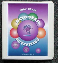 Body/brain BOOSTER Activities book by Jeff Haebig