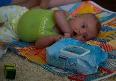 Did you know baby wipes clean everything? Well not exactly, but close. Here are lots of alternate baby wipes uses shared by readers.