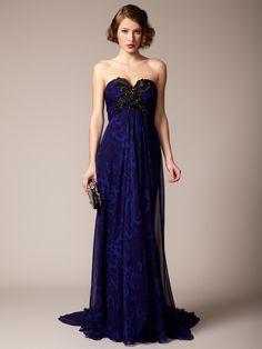 Marchesa Couture Silk Chiffon Sweetheart Gown. Drooooolll.