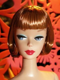 2009 Mattel Reproduction Barbie With Lifelike Bendable Legs after hair restyling by MiKelman.