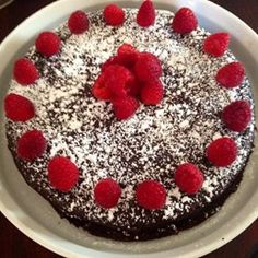 """Gluten-Free Moist Chocolate Cake 