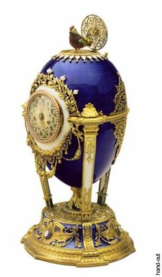 "Faberge Egg 1900 - ""Cockerel Egg"" Made for Maria from her son ""Your son, who loves you from the bottom of his heart, Nicky""- Letter from Nicholas II to his mother"