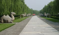 Ming Tombs (Beijing, China) - One of the most relaxing places I visited in China