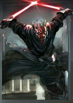 Which Star Wars piece(s) is the best? My vote goes to Darth Maul up there. Star Wars, by James Ghio.