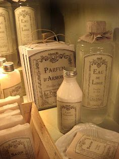 A proper bath requires the use of imported soaps, scented oils, powders & perfumes.