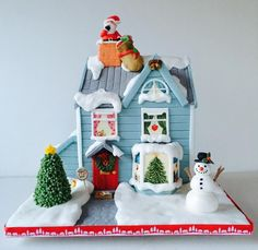 'Twas the night before Christmas   by The Rosebud Cake Company