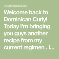 Welcome back to Dominican Curly! Today I'm bringing you guys another recipe from my current regimen . I started off with the growth oil and this week I have the clay wash. If you haven't read those yet you totally should boo. What is a clay wash? Just like you can deeply clean the skin on your face with clay, you can a
