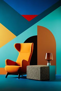 ORANGE CHAIR |  modern chair for a contemporary decor  | www.bocadolobo.com/ #modernchairs #chairideas
