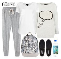 """""""Contest - 60 Second Style: Yoga Pants"""" by keisha-xo ❤ liked on Polyvore featuring Steven Alan, Topshop and Steve Madden"""