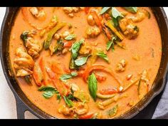 Thai chicken panang curry is a rich curry with complex flavors. You'll need under 30 minutes to make this bright and hearty Thai Panang Curry.
