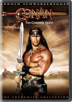 Arnold Schwarzenegger breakthrough film - Conan the Barbarian 1982 (poster) Conan The Barbarian Movie, Conan Movie, Film D'action, Film Serie, Best Action Movies, Good Movies, Action Films, Cinema Paradisio, Arnold Schwarzenegger Movies