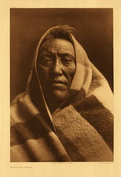 Middle Calf, Piegan Blackfoot, by Edward S. Curtis, 1900.