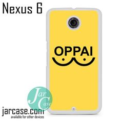 One Punch Man Yellow oppai Phone case for Nexus 4/5/6