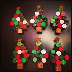 Wine Cork Holiday Tree by 1030Wine on Etsy