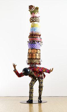 2015 Art Basel Yinka Shonibare 'Cake Man III' 2014