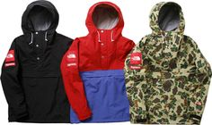 Supreme + North face