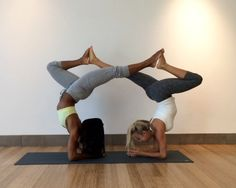partner yoga - this is so cool
