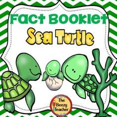 This non-fiction book on the sea turtle is a great resource to use for doing a research project on animals/ reptiles with your pre-k/kindergarten class. Included in this product is a black and white informational book about the sea turtle, a worksheet for Sea Turtle Facts, Sea Turtles, Turtle Book, Guided Reading Groups, Reading Activities, Turtle Crafts, Teacher Resources, Science Resources, Classroom Resources