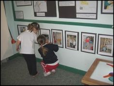 Providing documentation on the child's level promotes exploration and good use of environment.