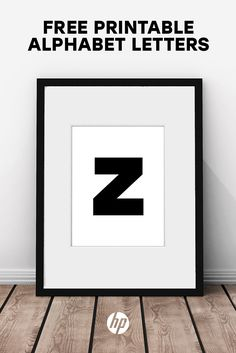 Build your own gallery wall with over 40 pieces of free printable art from HP. Perfect for an entryway, living room, kitchen or bedroom, these free printables include quotes, bold graphics, alphabet letters, modern art and more. Just print on your HP printer & frame! Tap this Pin to get started. Artwork: TODAY IS THE DAY by In Good Company for HP.