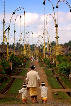 village ❀  Bali Floating Leaf Eco-Retreat ❀ http://balifloatingleaf.com ❀