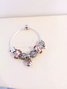 50% OFF!!! $199 Pandora Charm Bracelet Red. Hot Sale!!! SKU: CB02002 - PANDORA Bracelet Ideas