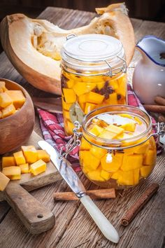 Cultures for Health- Winter squash softens during fermentation to a just-crisp, brightly colored, sweet and sour snack. Best Probiotic, Probiotic Foods, Fermented Foods, Chutney, Fermentation Recipes, Nourishing Traditions, Winter Vegetables, Meals In A Jar, Cooking Recipes
