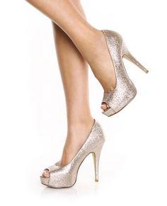Glitter Heels... I feel like Cinderella in these shoes :o)
