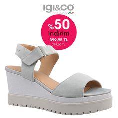 IGI&CO Süet sandalet %50 indirimle vingi.com.tr'de. Ücretsiz kargo. Made in Italy. Online satış. Kapıda ödeme seçeneği. Tabata, Espadrilles, Sandals, Shoes, Fashion, Espadrilles Outfit, Slide Sandals, Moda, Shoes Sandals