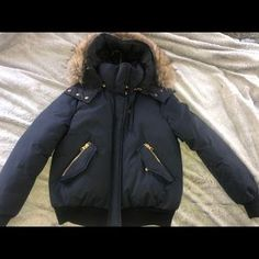 Shop Women's Mackage Blue size L Puffers at a discounted price at Poshmark. Description: Authentic Barely worn , like new Very warm!