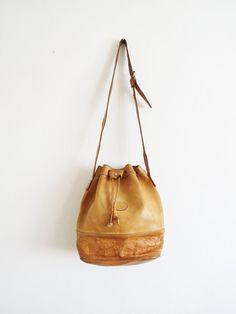 Vintage Mexican Bucket Bag SOLD