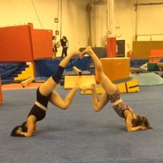 """512 mentions J'aime, 100 commentaires - Paragon Gymnastics (@paragon_gymnastics) sur Instagram: """"Here are more fun new partner conditioning our team girls did tonight during practice …"""""""