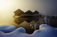 Photograph Three Huts by Kilian Schönberger on 500px