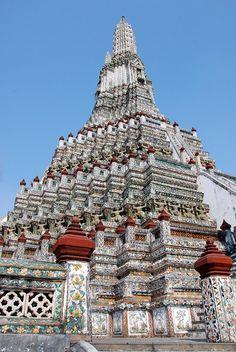 Pagoda of Wat Arun, Bangkok, Thailand
