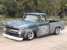 Green Haired Stepchild - 1957 Ford F100 Front Quarter