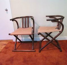 RESERVED Mid Century Modern Bentwood Folding by CapeCodModern