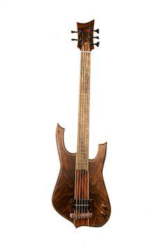 Roper Guitars custom 5-string bass