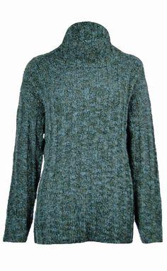 Sutton Studio Womens Cowl Neck Oversized Wool Sweater Misses