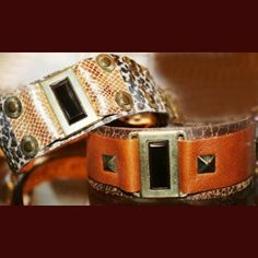 Emerald beautiful dog collar for medium to large breeds. It´s a classy design that is resistant and sofisticated. $51