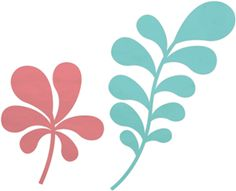 Silhouette Online Store - View Design #17210: planty stem shapes