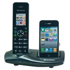 Icreation iPhone Compatible Cordless Phone