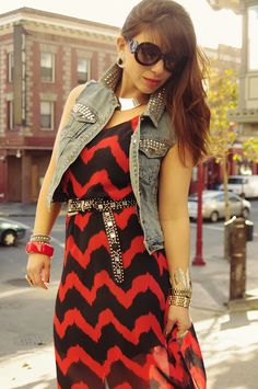 We love Jackie's Crossroads-ful outfit!